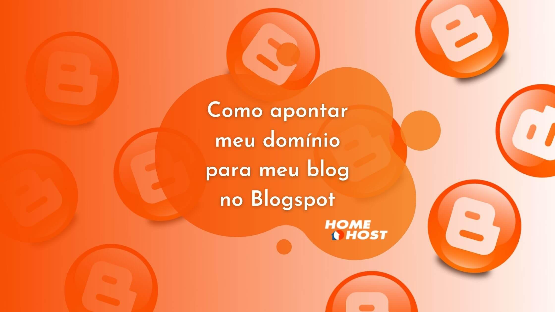 Como apontar meu domínio para meu blog no Blogspot