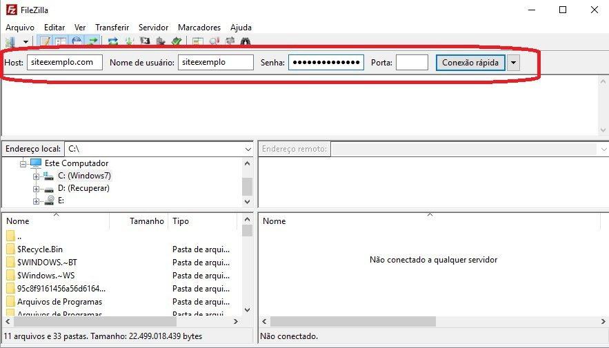 chmod permissoes arquivos filezilla 1