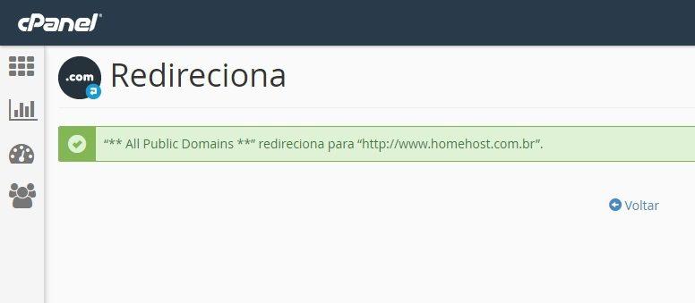como redirecionar um dominio 3