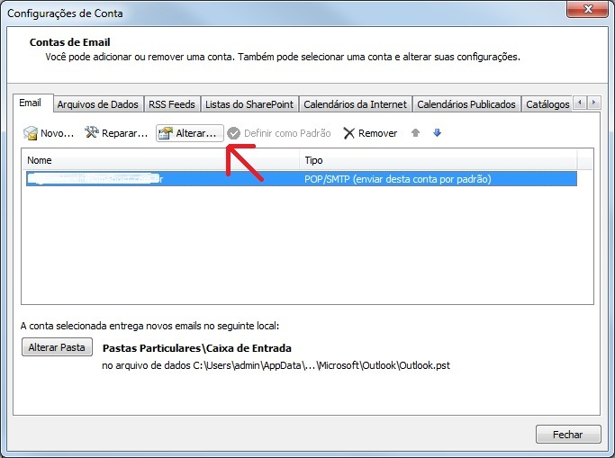 Como configurar o Outlook 2003