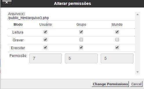 permissoes de arquivos chmod 8