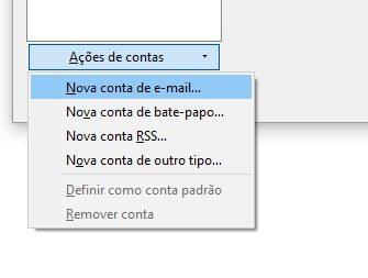 configurar email no thunderbird 4