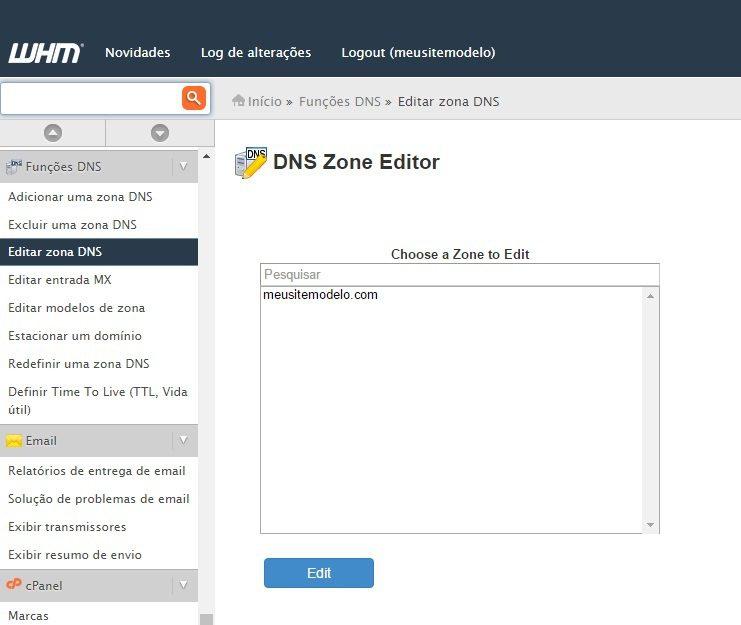 customizar servidor dns revenda de hospedagem 1
