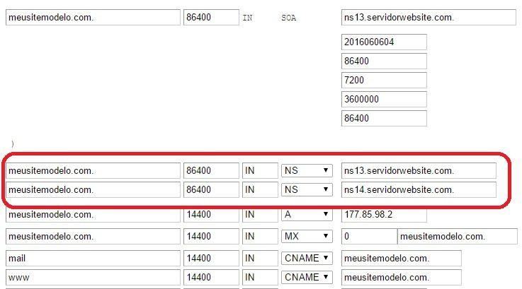 customizar servidor dns revenda de hospedagem 4