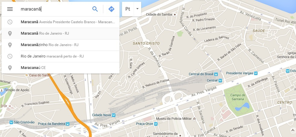 inserir google maps no site 1