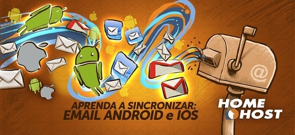 Como configurar email no Android e no Iphone