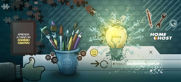 Aprenda a criar um domínio criativo para o seu site