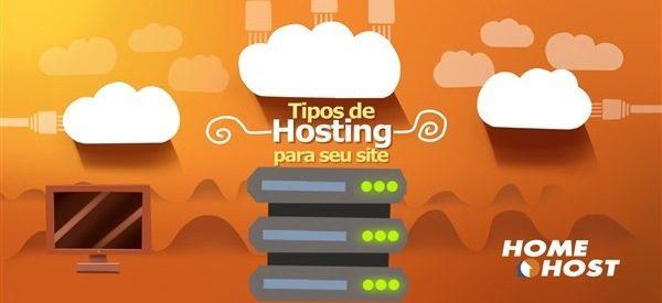 Tipos de hosting para o seu site