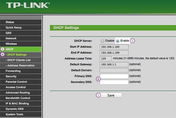 configurar dns no roteador de internet