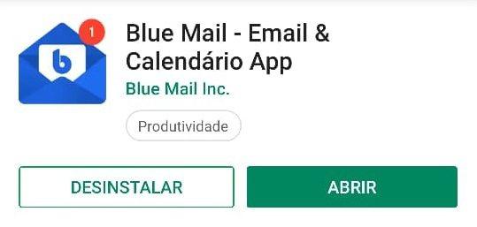instalar o bluemail