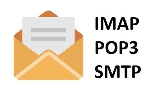 porta smtp imap e pop3