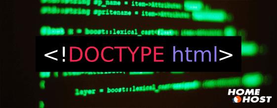 Doctype HTML: Tudo que você precisa saber