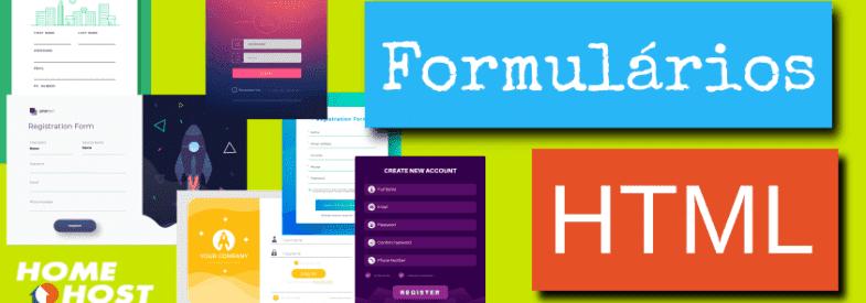 Formulário HTML: criando forms HTML e enviando dados