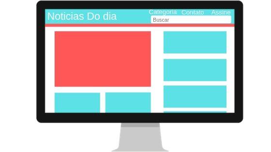 Exemplo de Portal de Noticia