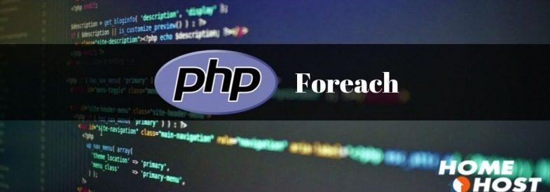 PHP Foreach: Laço de iteração em arrays