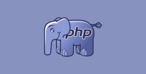 PHP e seu mascote (elefante)