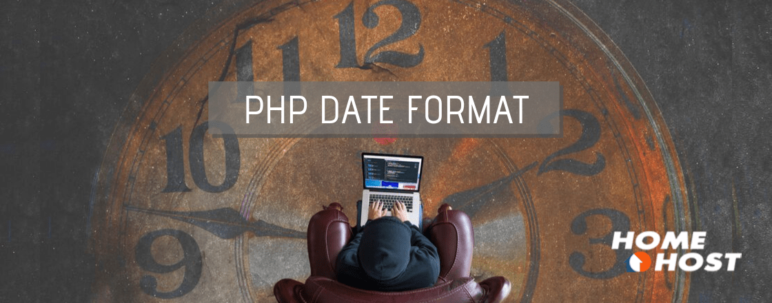 PHP date format