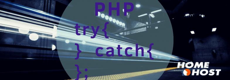 PHP Try Catch: criando e tratando exceções