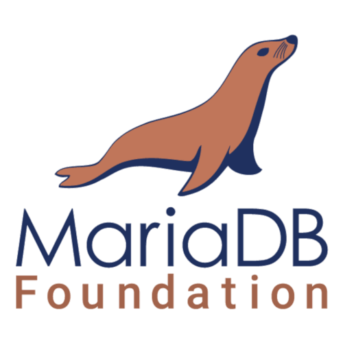 Logomarca do MariaDB Foundation