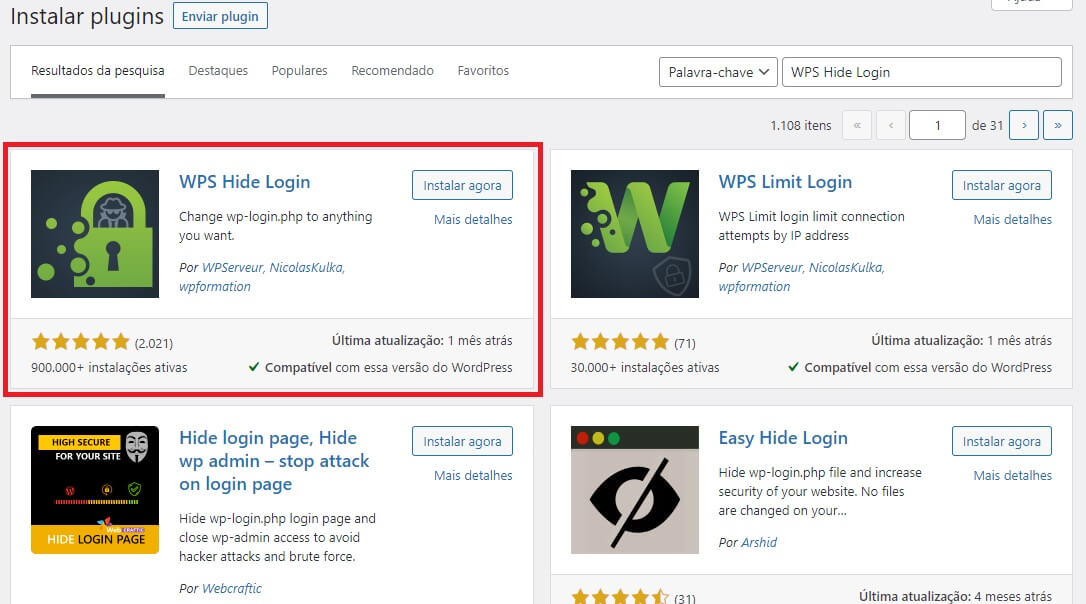 WPS Hide Login: plugin para alterar a URL da Página de Login do WordPress