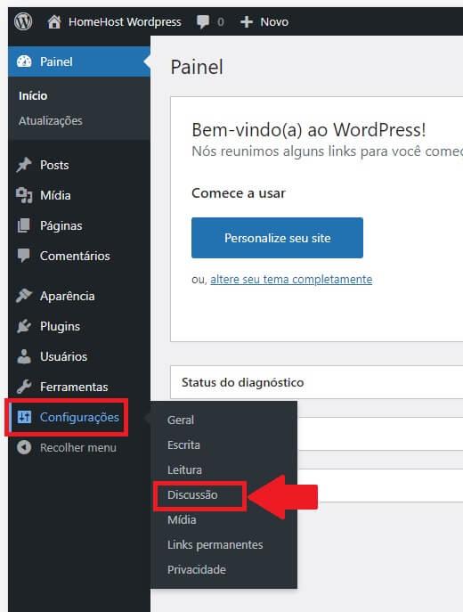 Como Bloquear Comentários e Cadastros no WordPress: Configurações de Discussão do WordPress